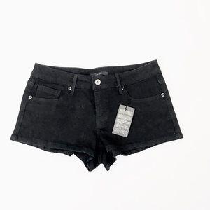 NWT FOREVER 21 Black Denim Summer Shorts